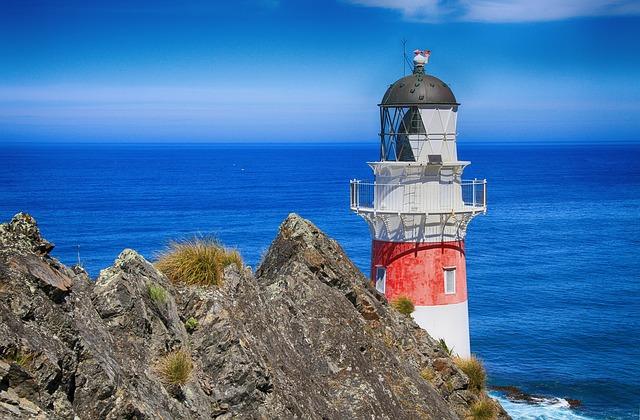 Ozean Leuchtturm